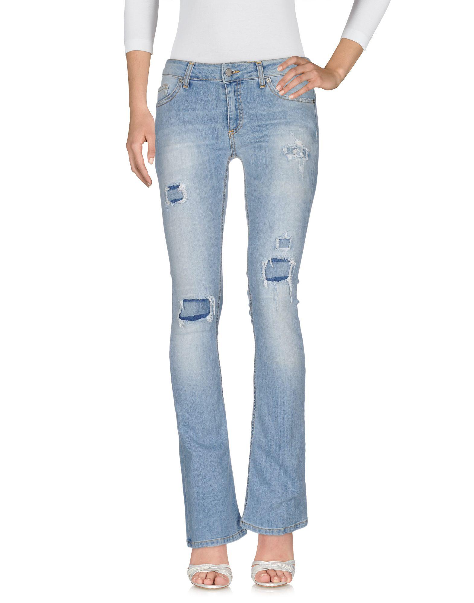 цена на MADE WITH LOVE Джинсовые брюки