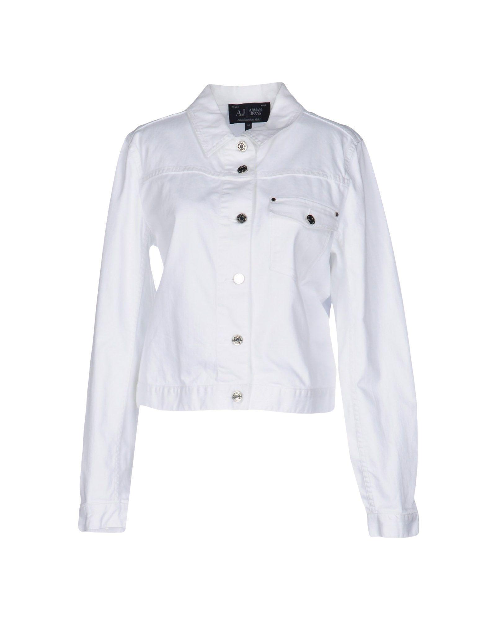 ARMANI JEANS Джинсовая верхняя одежда брендовая одежда