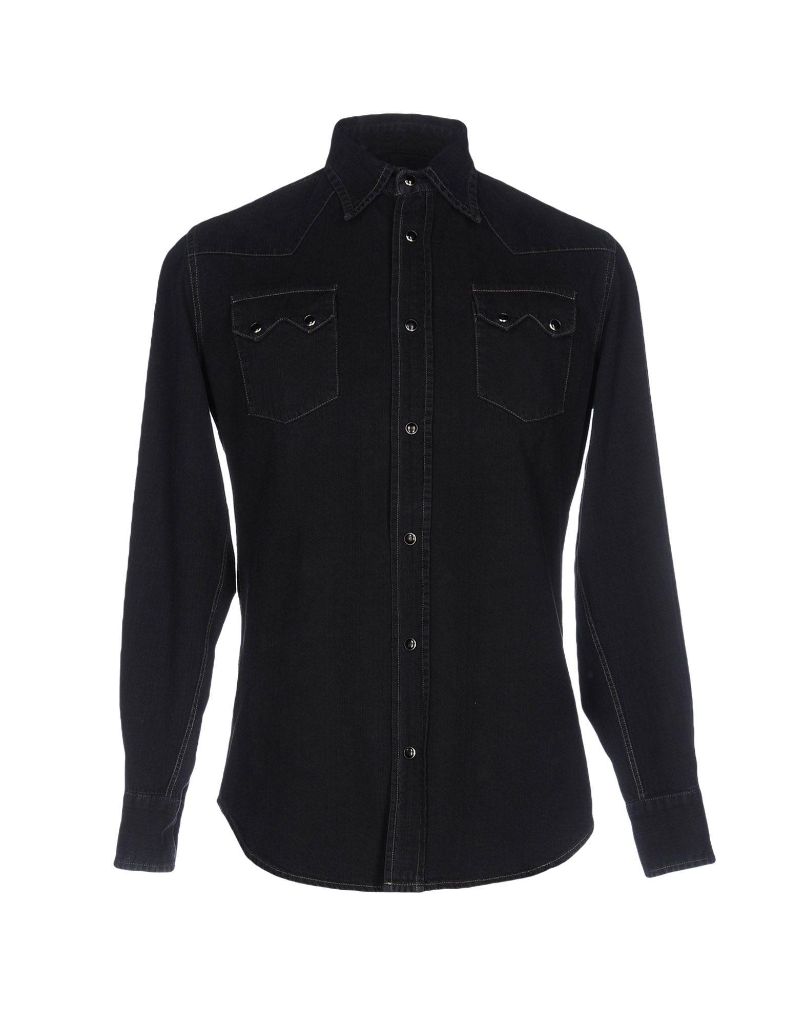 MASTER COAT Джинсовая рубашка