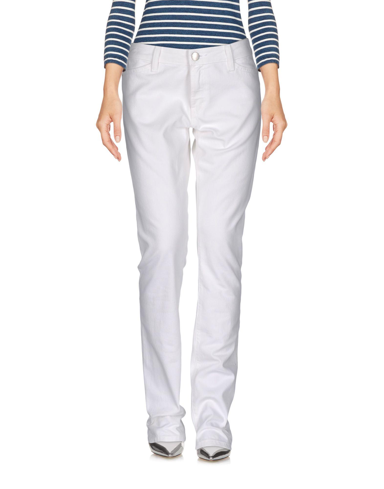 CURRENT/ELLIOTT + CHARLOTTE GAINSBOURG Джинсовые брюки цена и фото