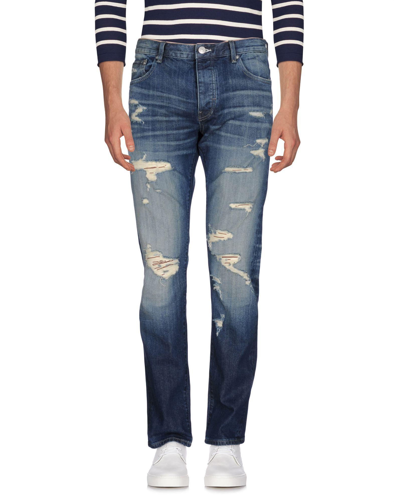 EARNEST SEWN Джинсовые брюки цена 2017