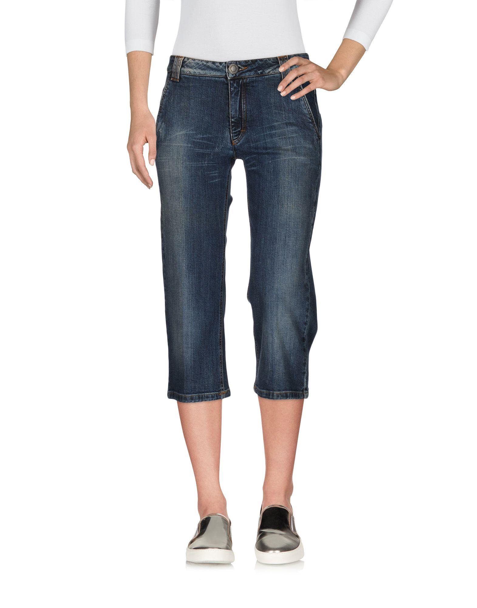 JEANS LES COPAINS Джинсовые брюки-капри jeans blue les copains jeans
