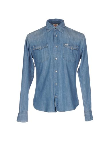 Джинсовая рубашка FRANKLIN & MARSHALL 42579076LN
