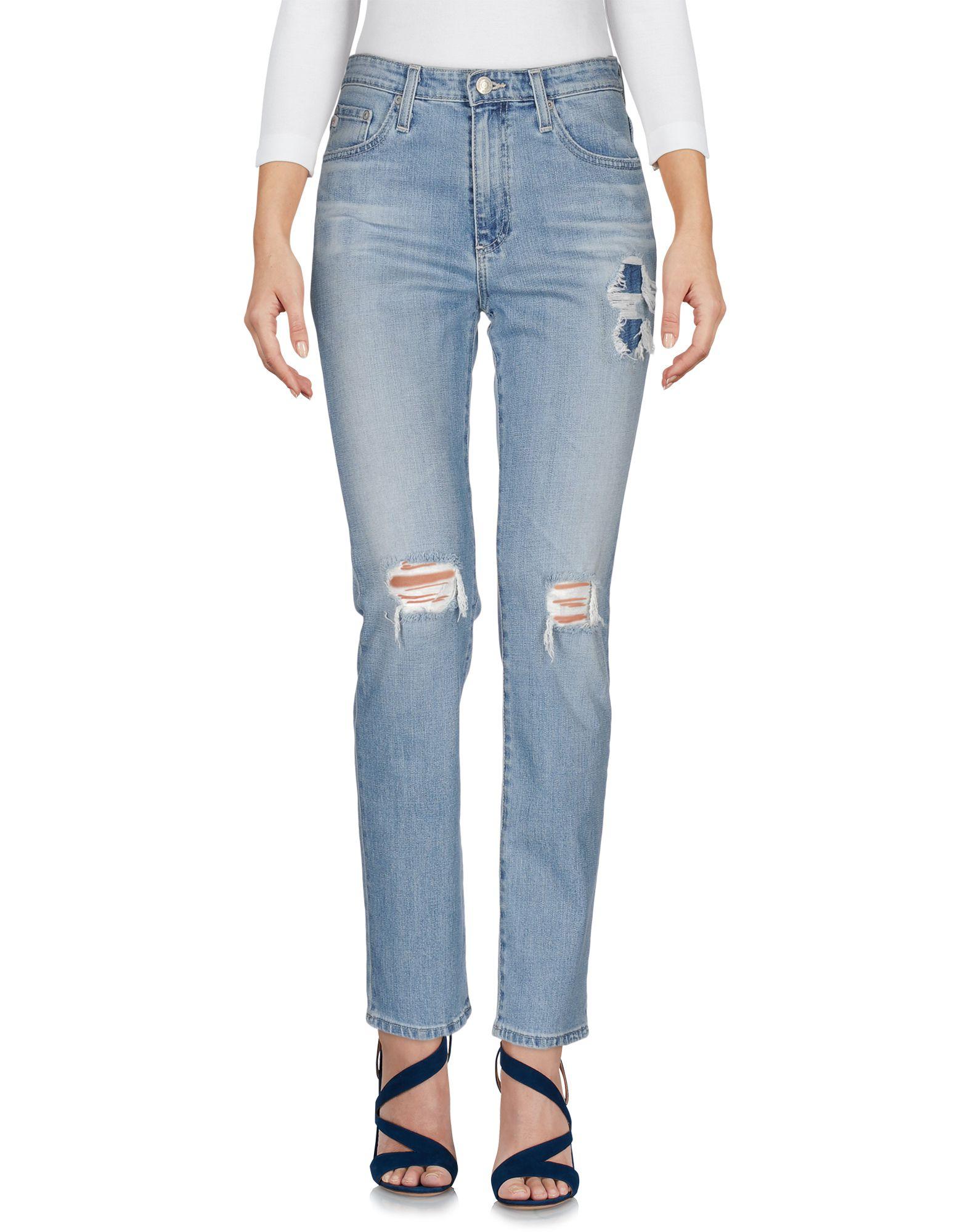 купить ALEXA CHUNG for AG Джинсовые брюки дешево