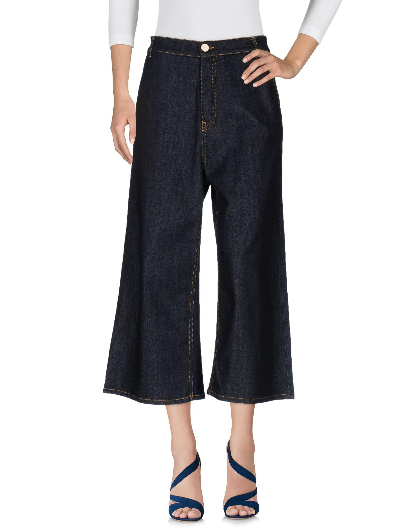 цены на PINKO Джинсовые брюки-капри  в интернет-магазинах
