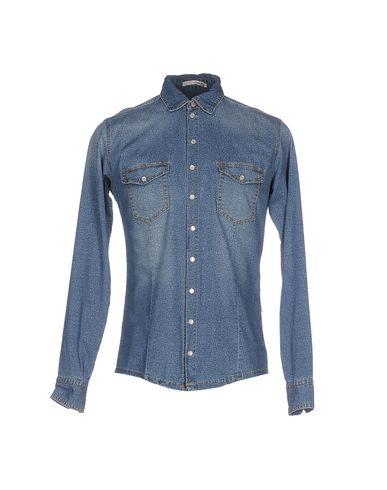 Джинсовая рубашка от KLIXS JEANS