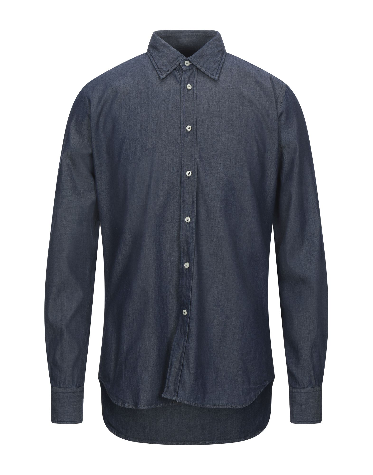 BEVILACQUA Denim Shirt in Blue