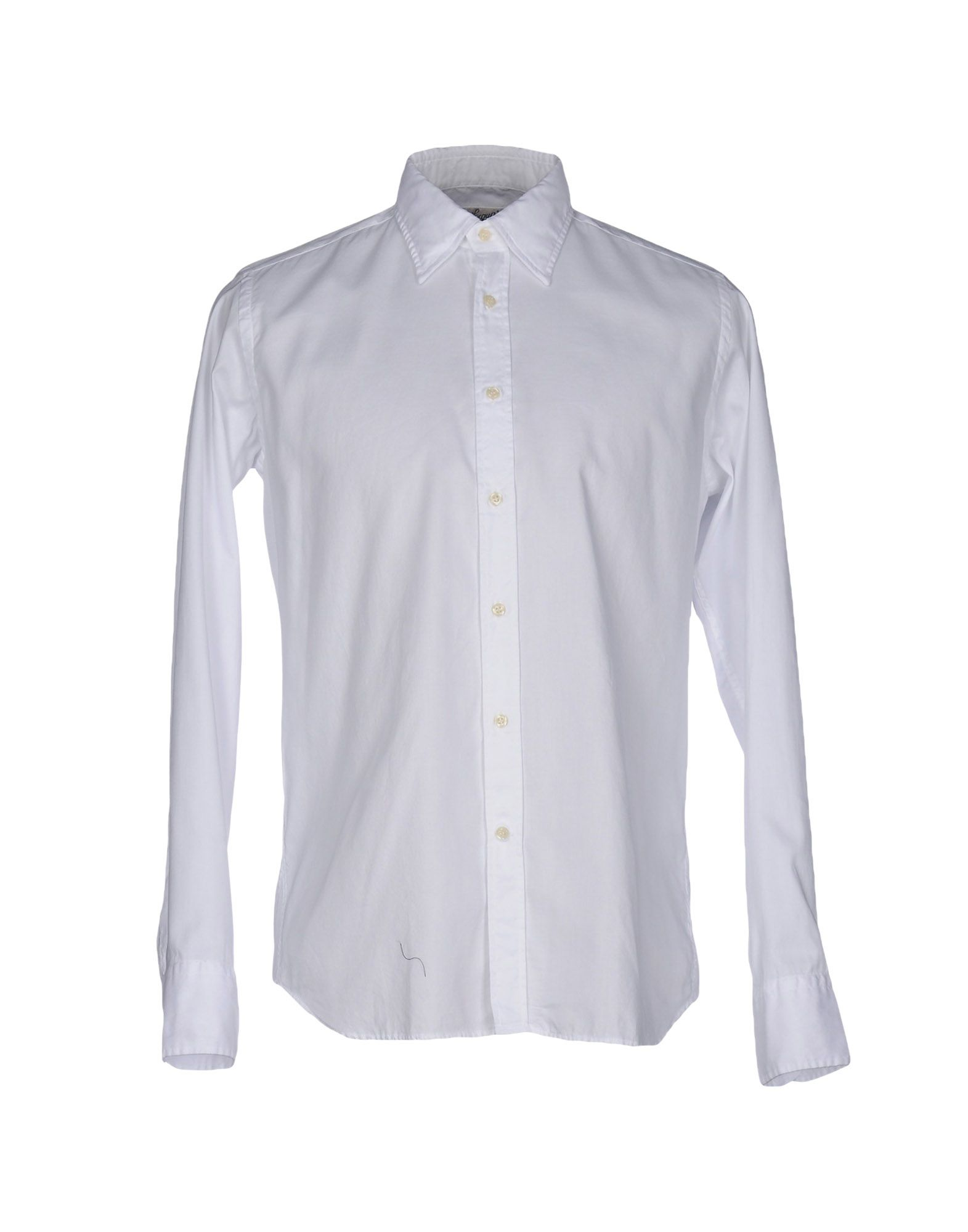 BEVILACQUA Denim Shirt in White
