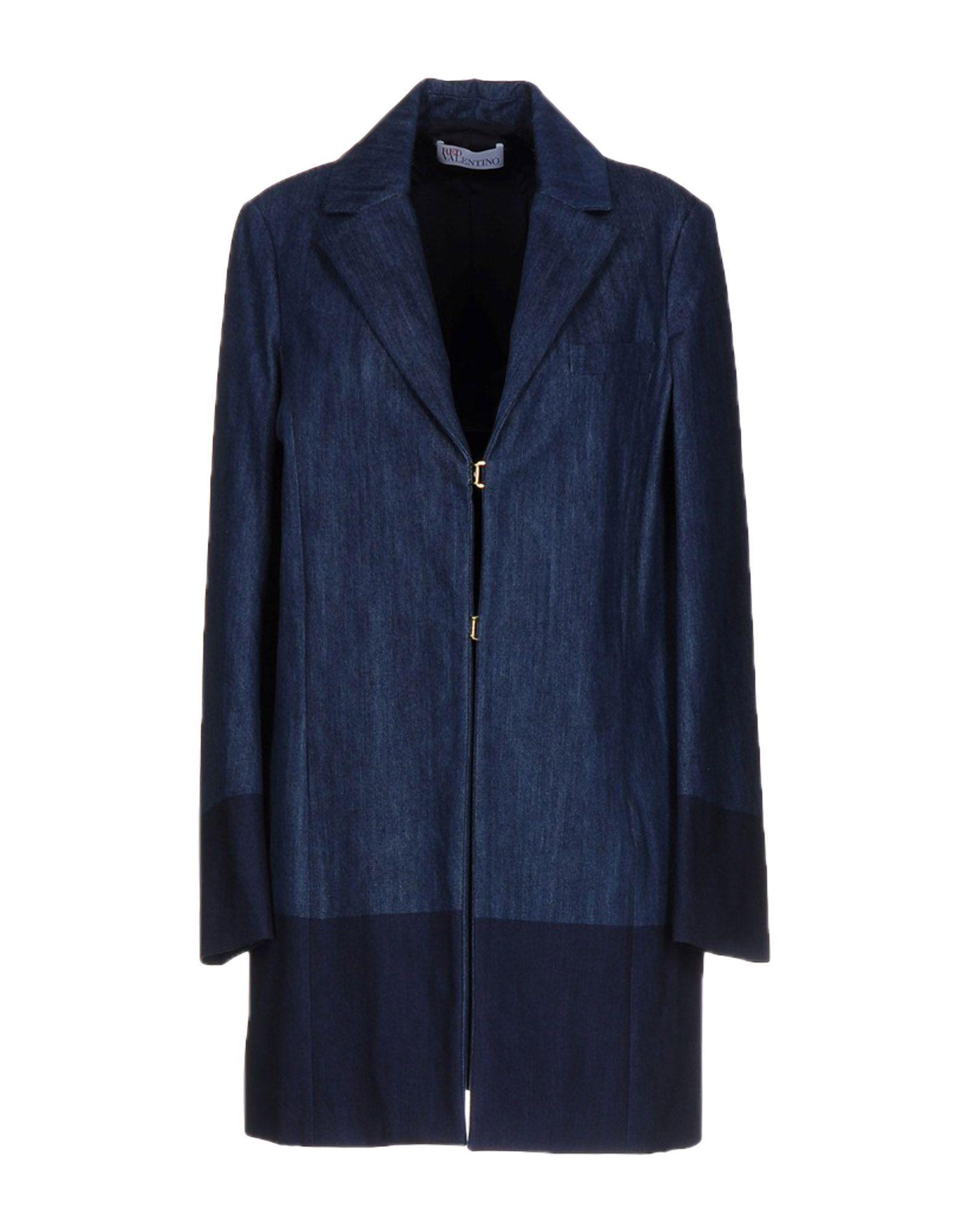 REDValentino Джинсовая верхняя одежда верхняя одежда