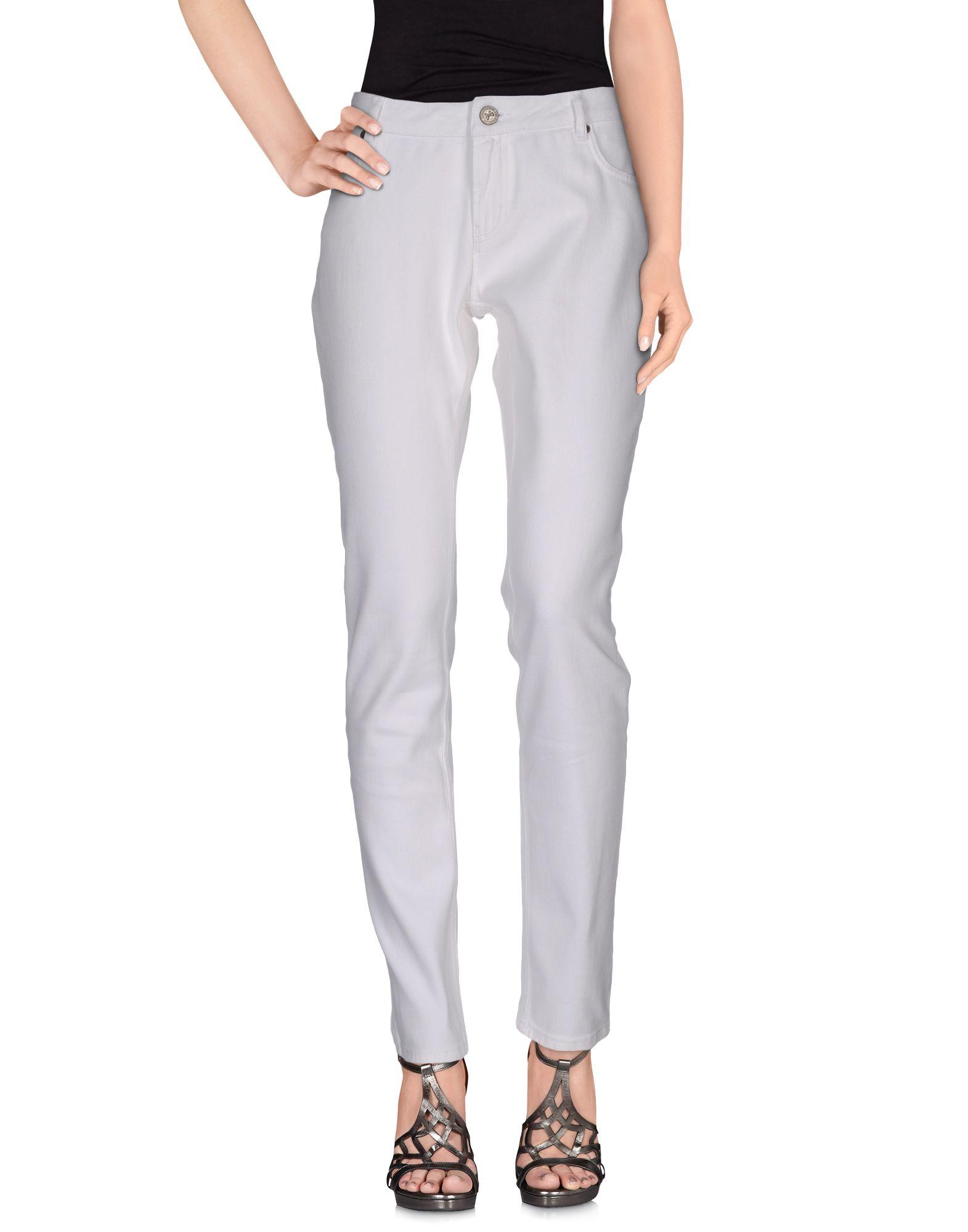 REDValentino Джинсовые брюки redvalentino джинсовые брюки капри