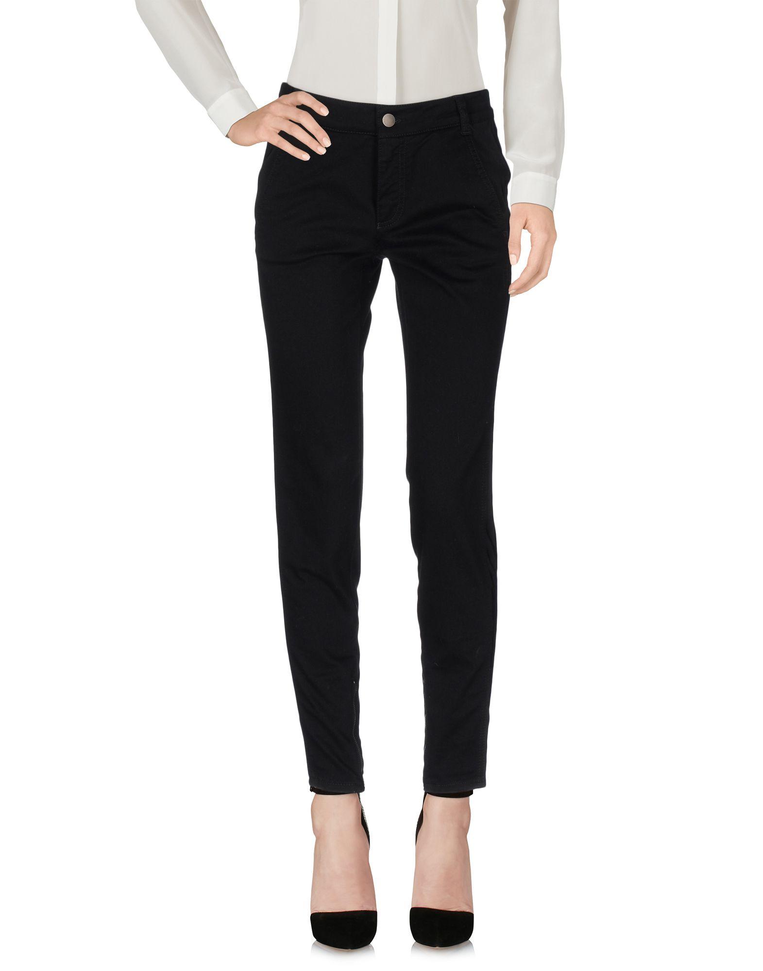 STELLA McCARTNEY Damen Hose Farbe Schwarz Größe 5