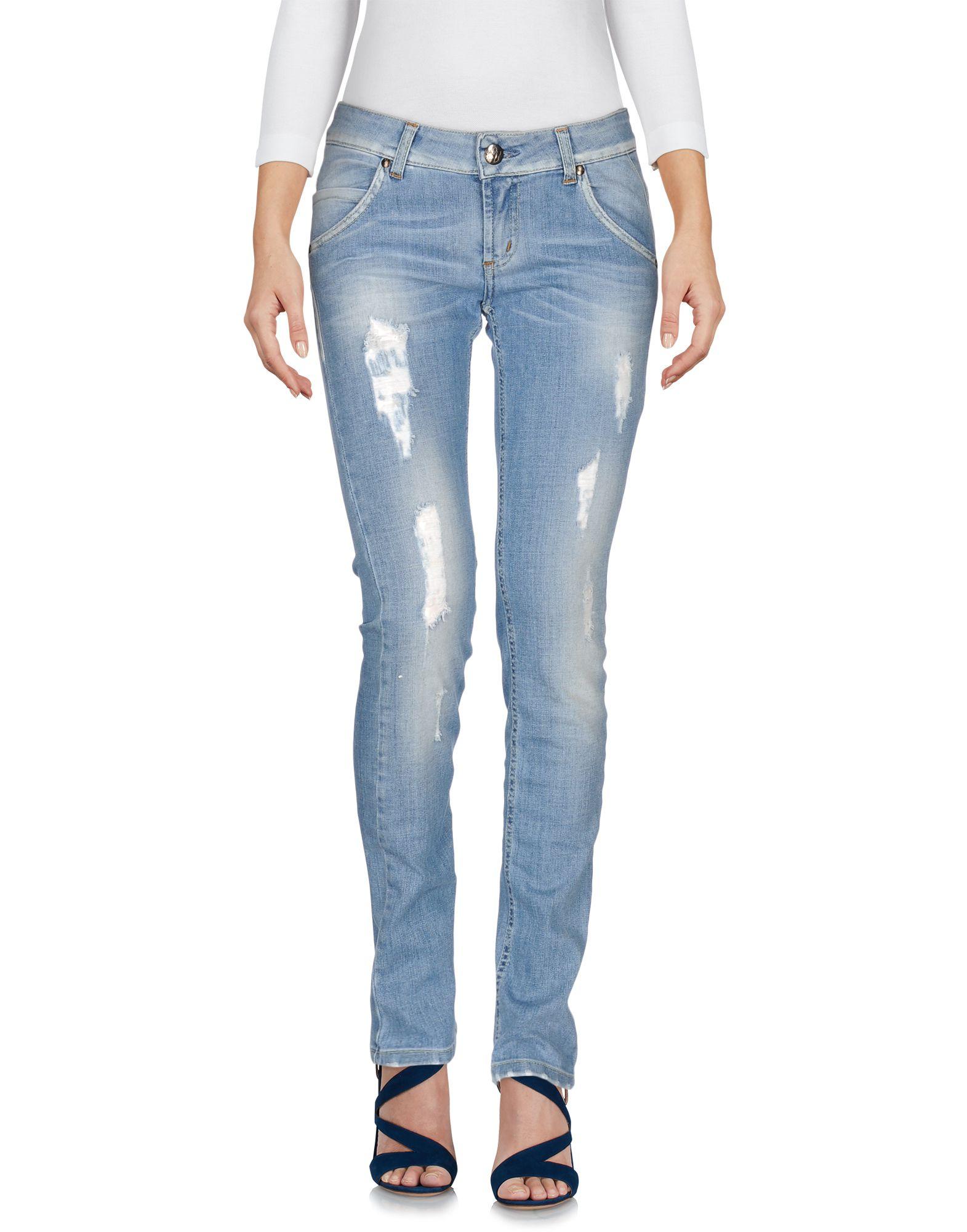 где купить SCEE by TWIN-SET Джинсовые брюки по лучшей цене