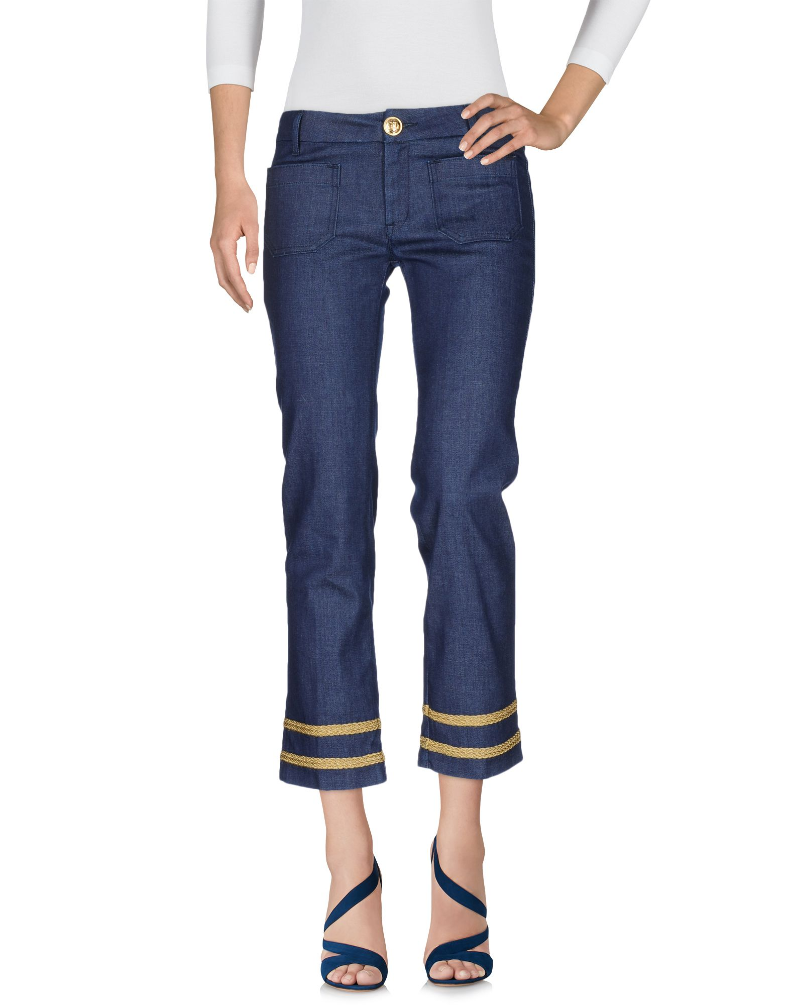 THE SEAFARER Джинсовые брюки-капри start up джинсовые брюки капри