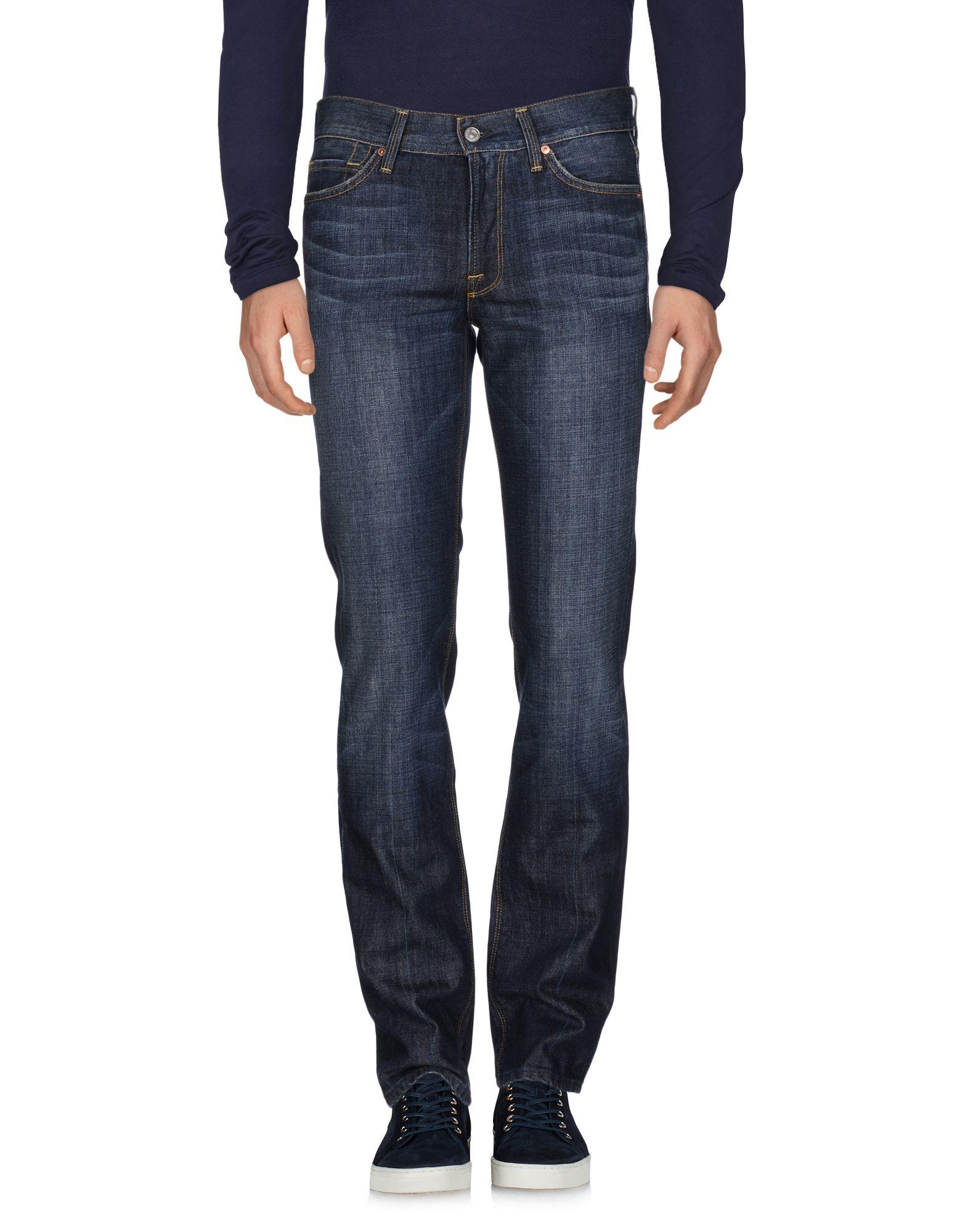 7 FOR ALL MANKIND Джинсовые брюки dismero джинсовые брюки