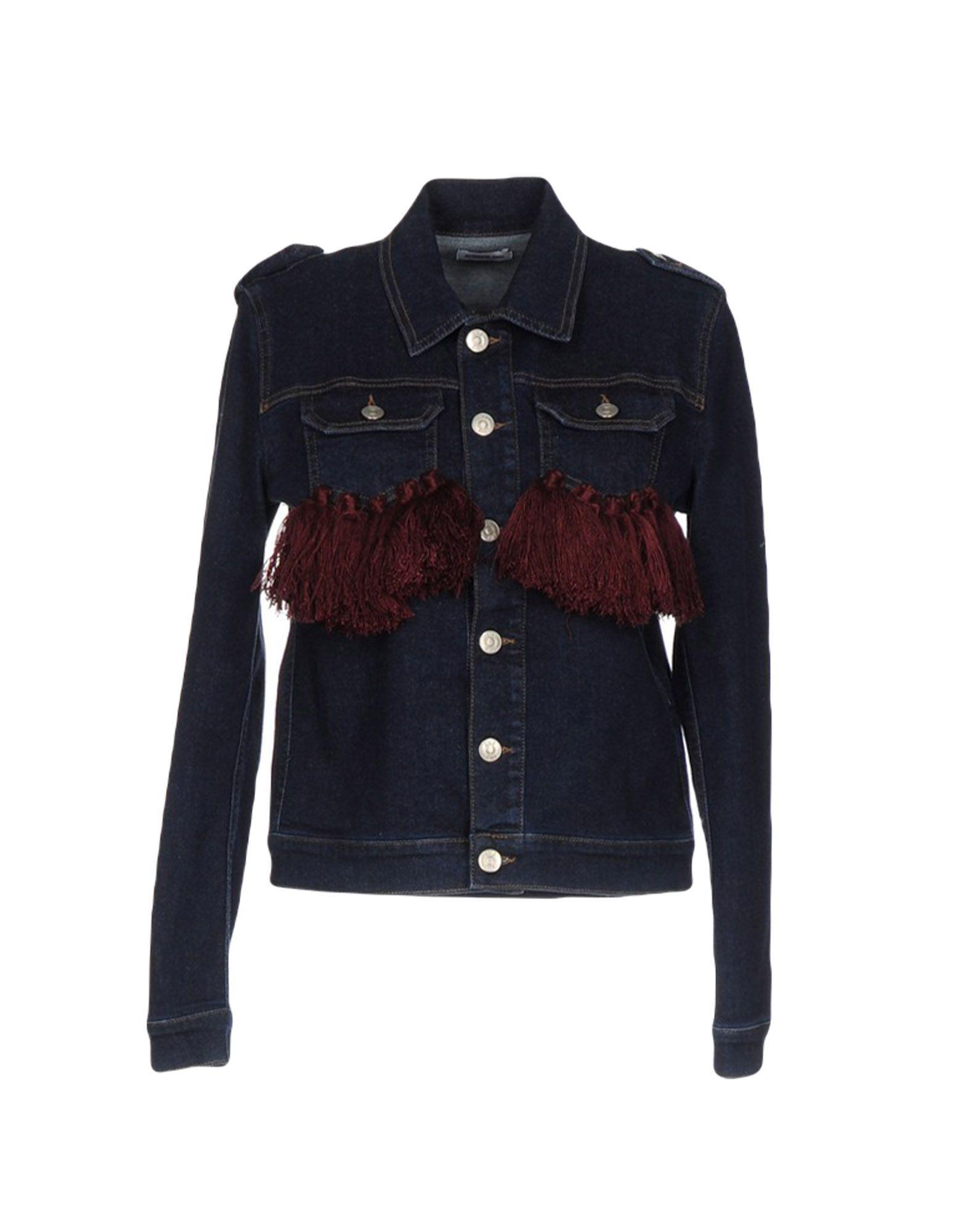 le volière джинсовая верхняя одежда AU JOUR LE JOUR Джинсовая верхняя одежда
