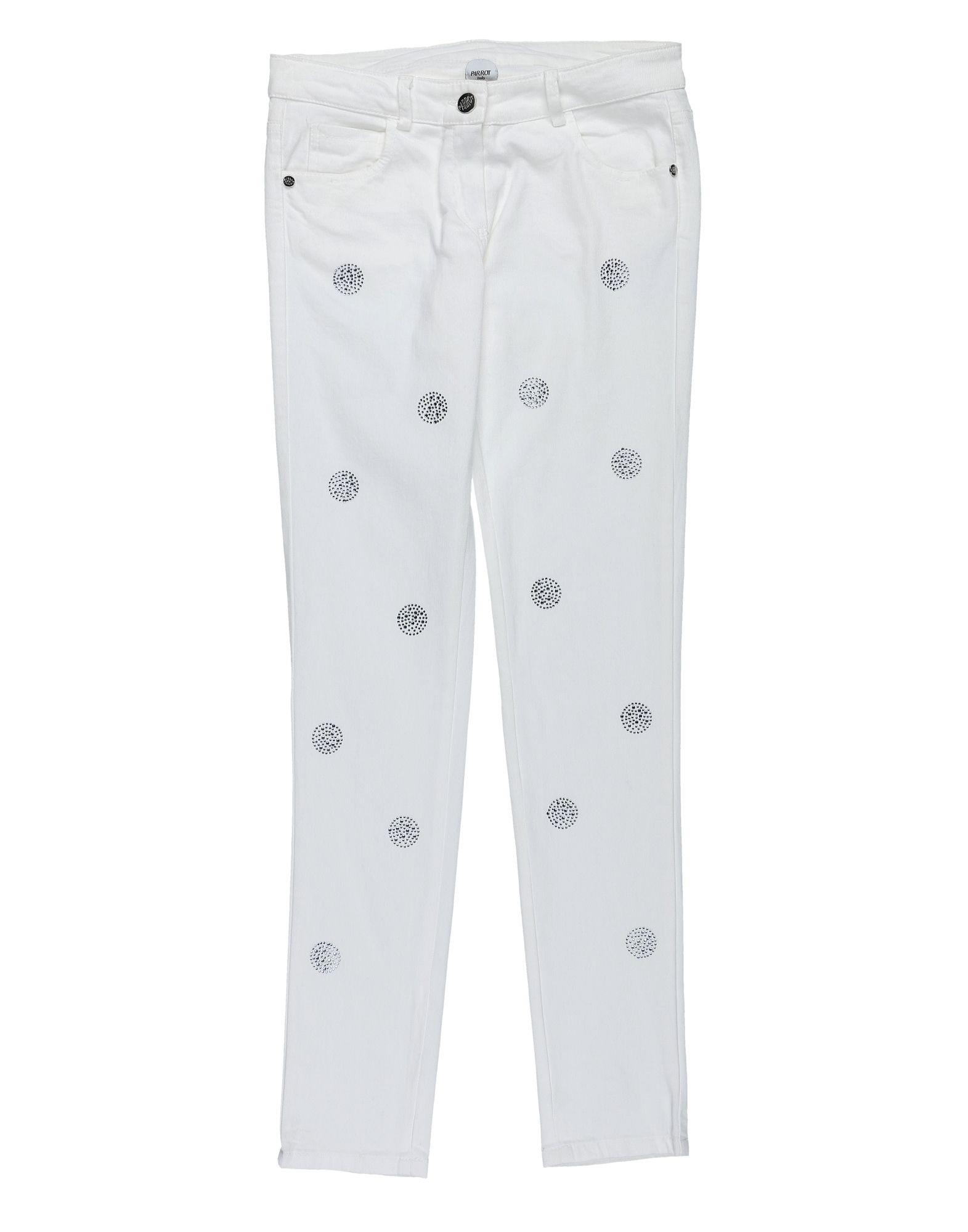 Parrot Kids' Jeans In White