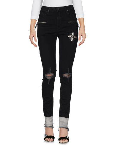 MARCELO BURLON Pantalon en jean femme