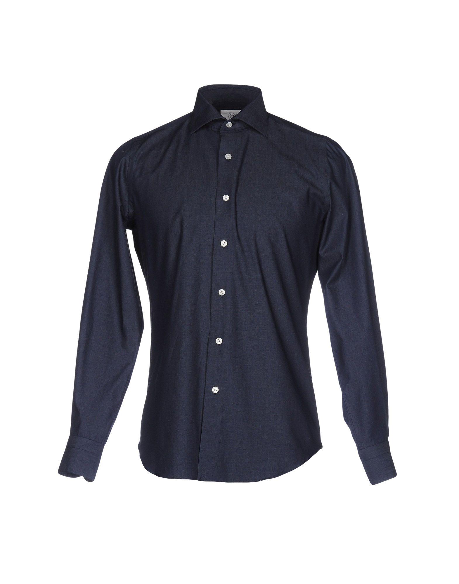 MASSIMO LA PORTA Джинсовая рубашка