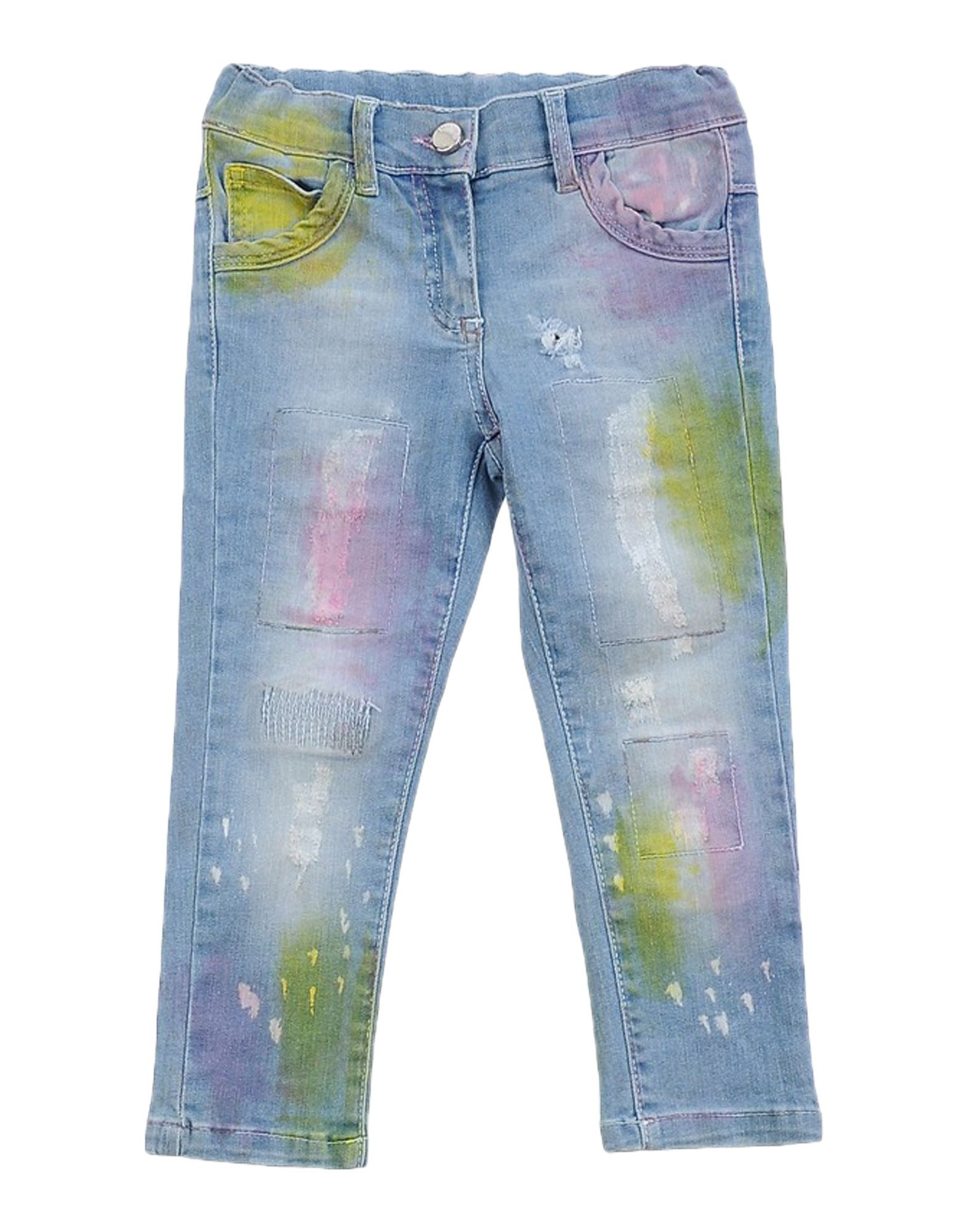 MICROBE Джинсовые брюки microbe толстовка
