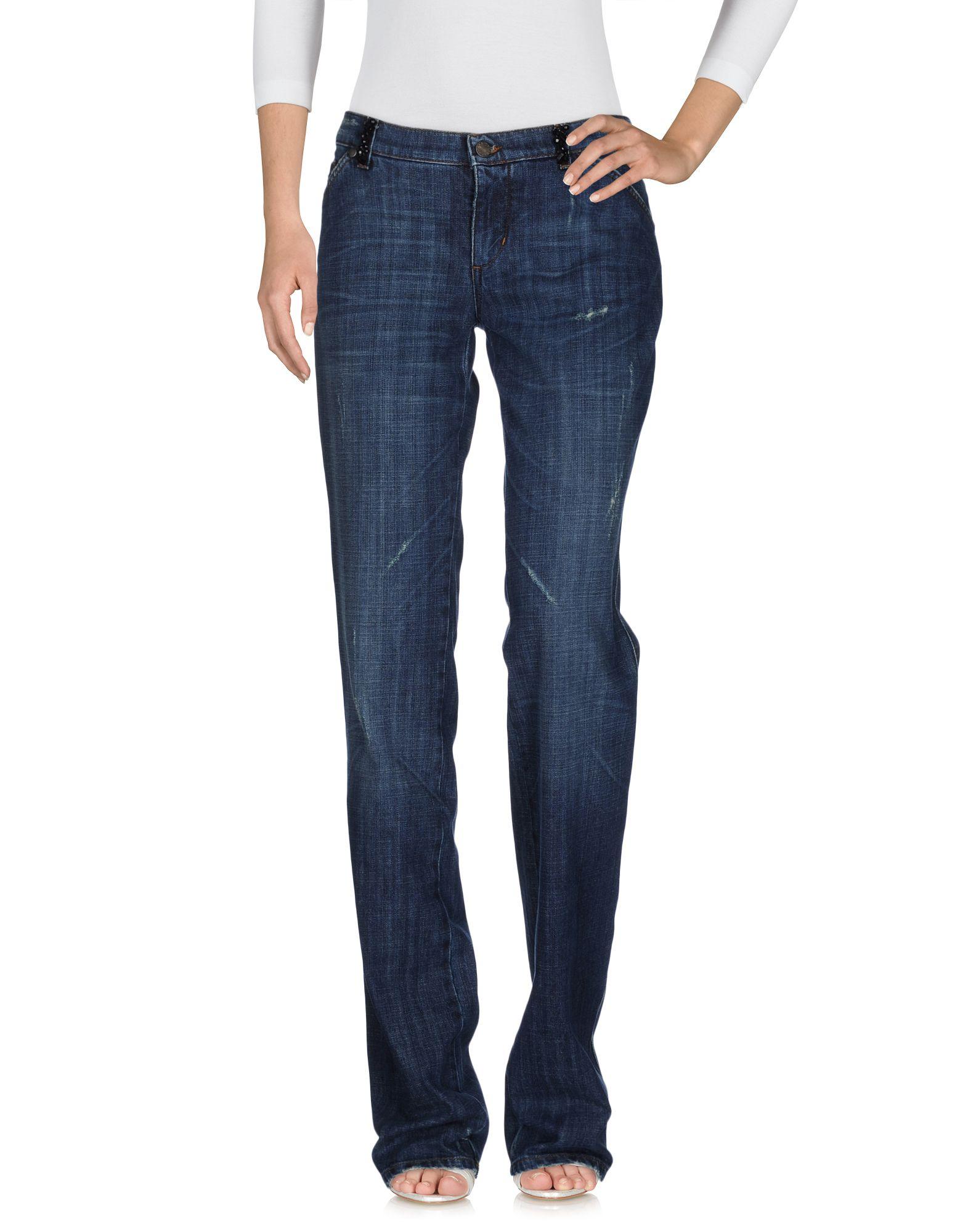 где купить  ANNA MOLINARI Джинсовые брюки  по лучшей цене