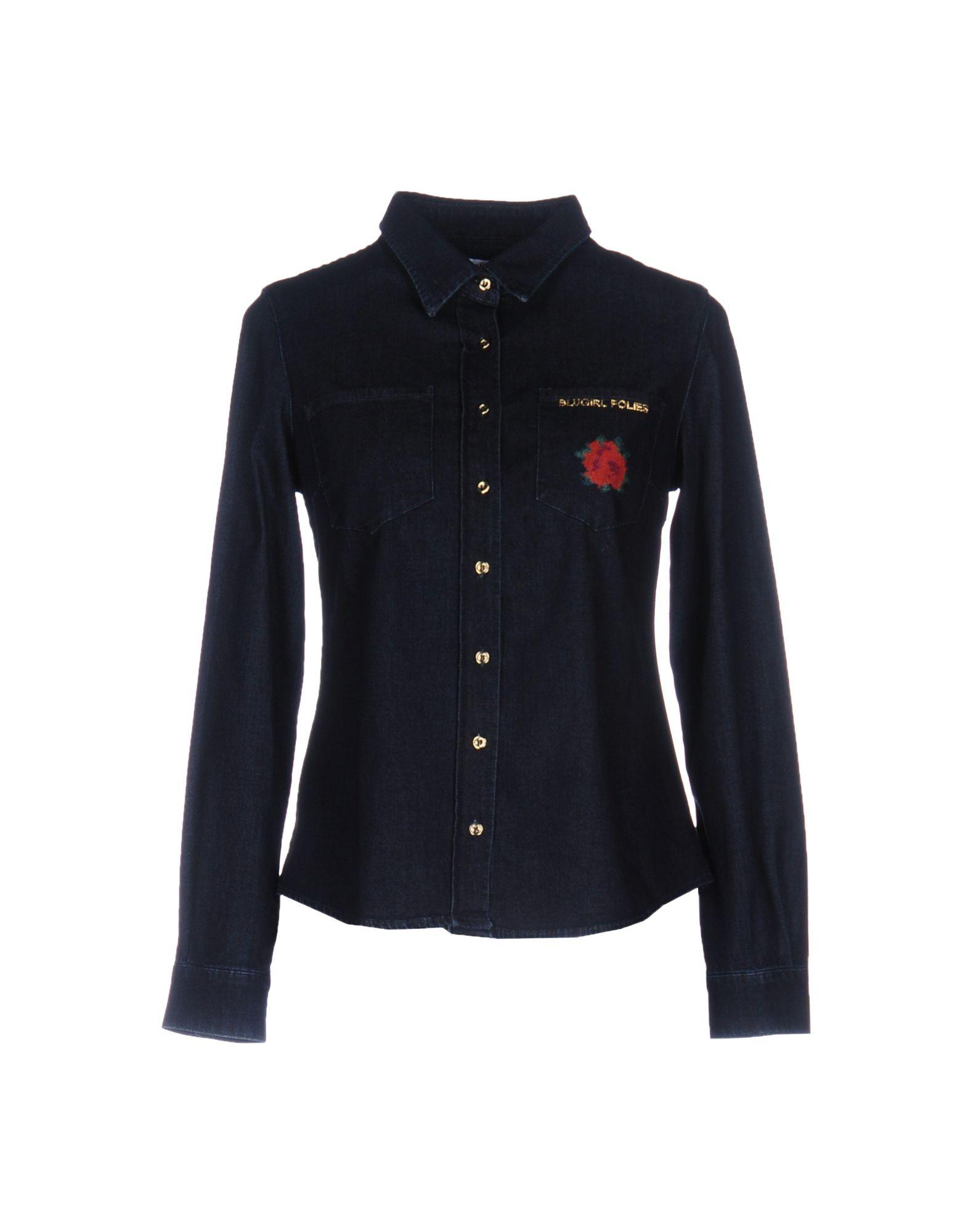 BLUGIRL FOLIES Джинсовая рубашка рубашка blugirl рубашка