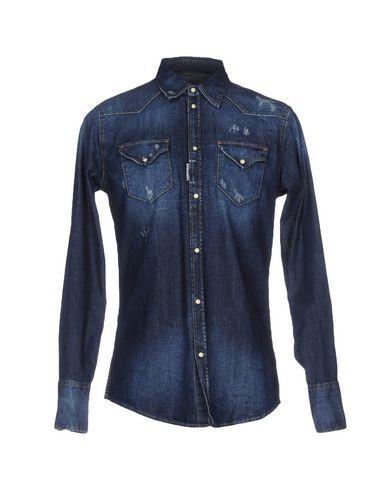 Джинсовая рубашка DSQUARED2 42582323RJ