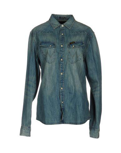 Джинсовая рубашка WRANGLER 42582449XL