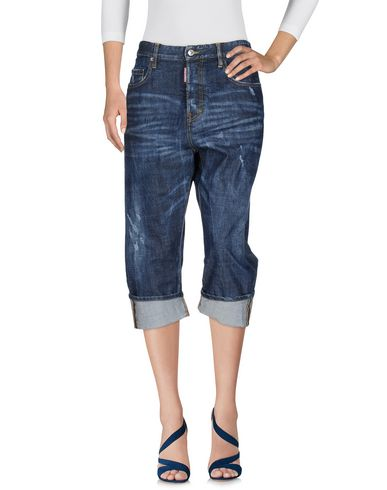 Джинсовые брюки-капри DSQUARED2 42582505HE