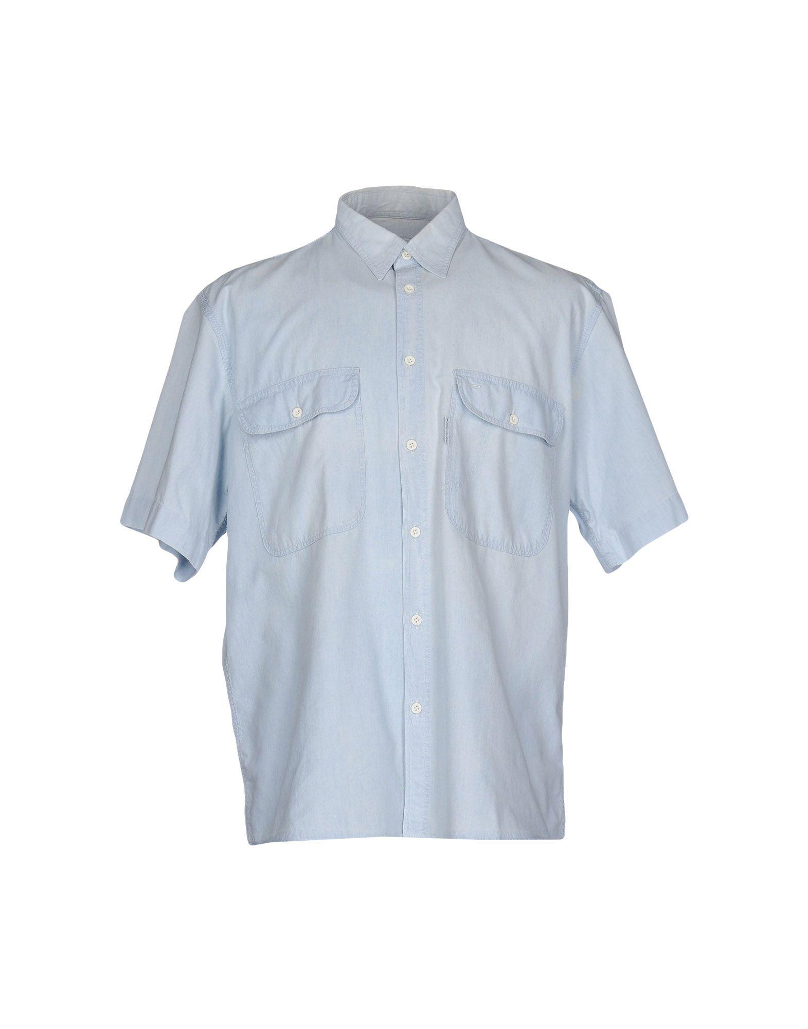 BLUE SIDE Джинсовая рубашка