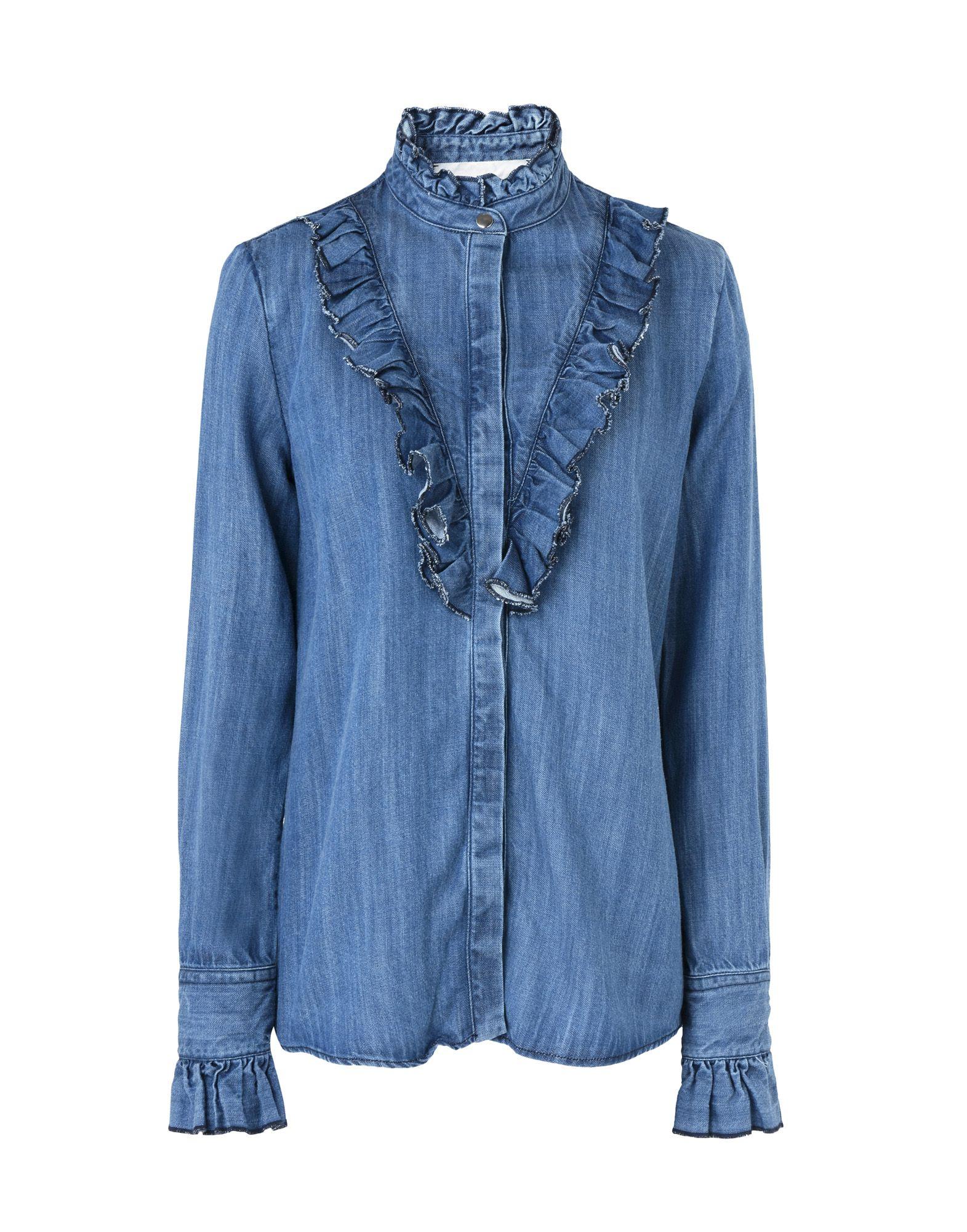 8 Джинсовая рубашка рубашка джинсовая nice