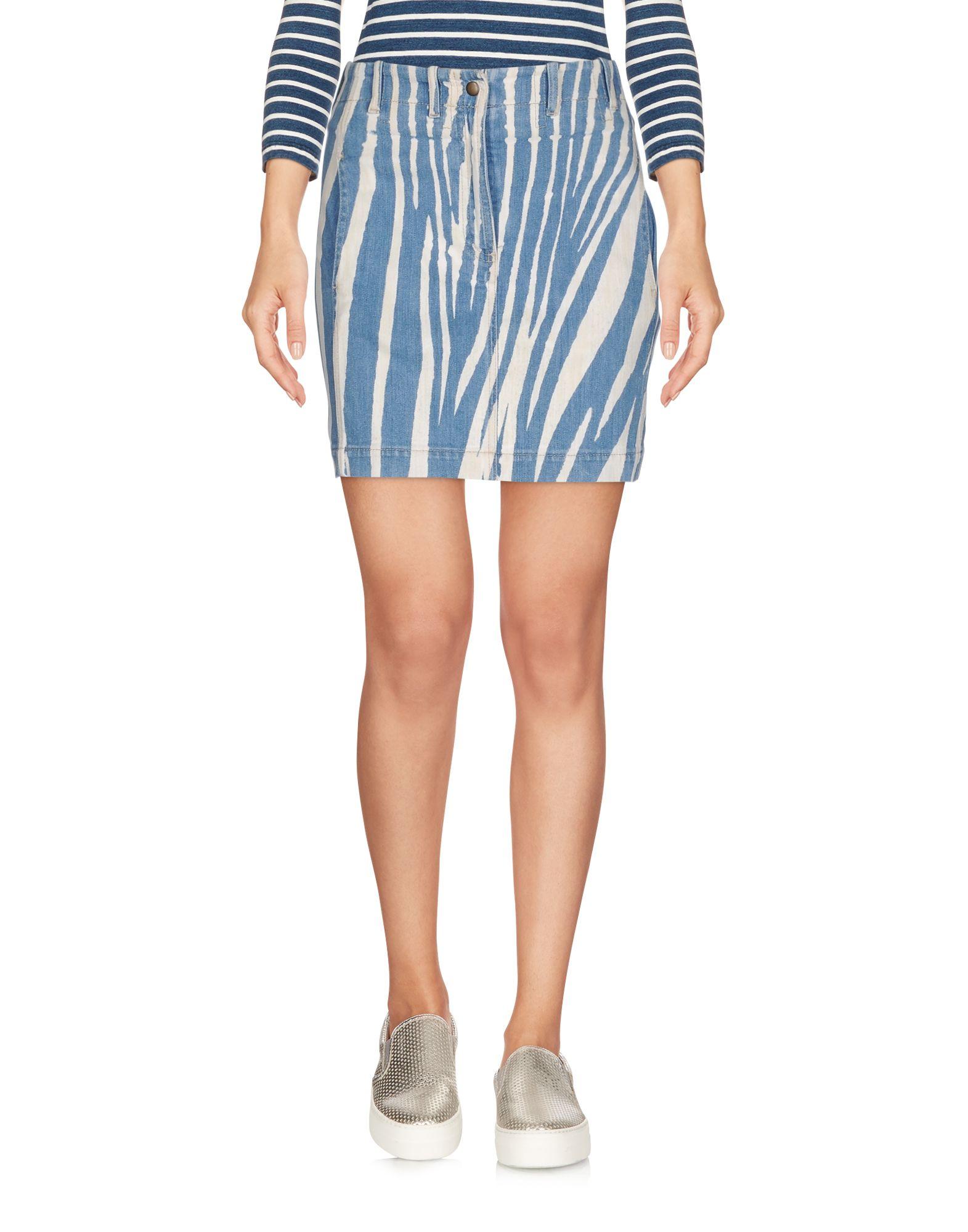 ROBERTO CAVALLI Джинсовая юбка юбка джинсовая marks
