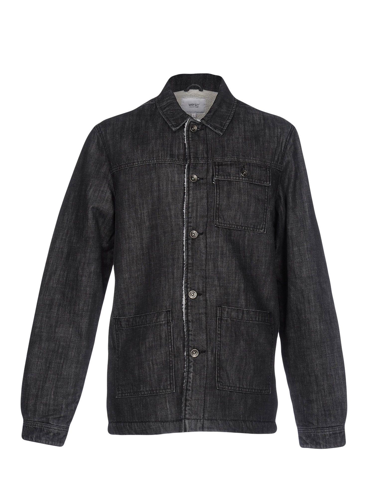 купить WESC Джинсовая верхняя одежда дешево