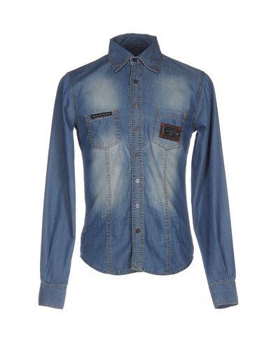 Джинсовая рубашка PHILIPP PLEIN 42582887WL