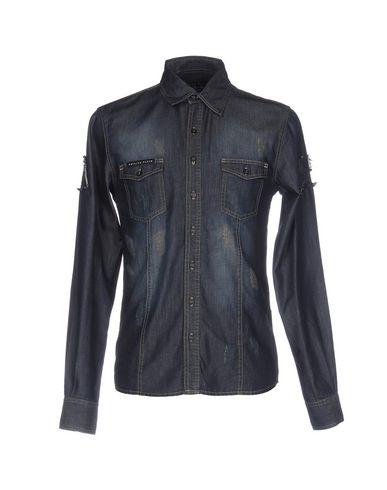 Джинсовая рубашка PHILIPP PLEIN 42582891CO