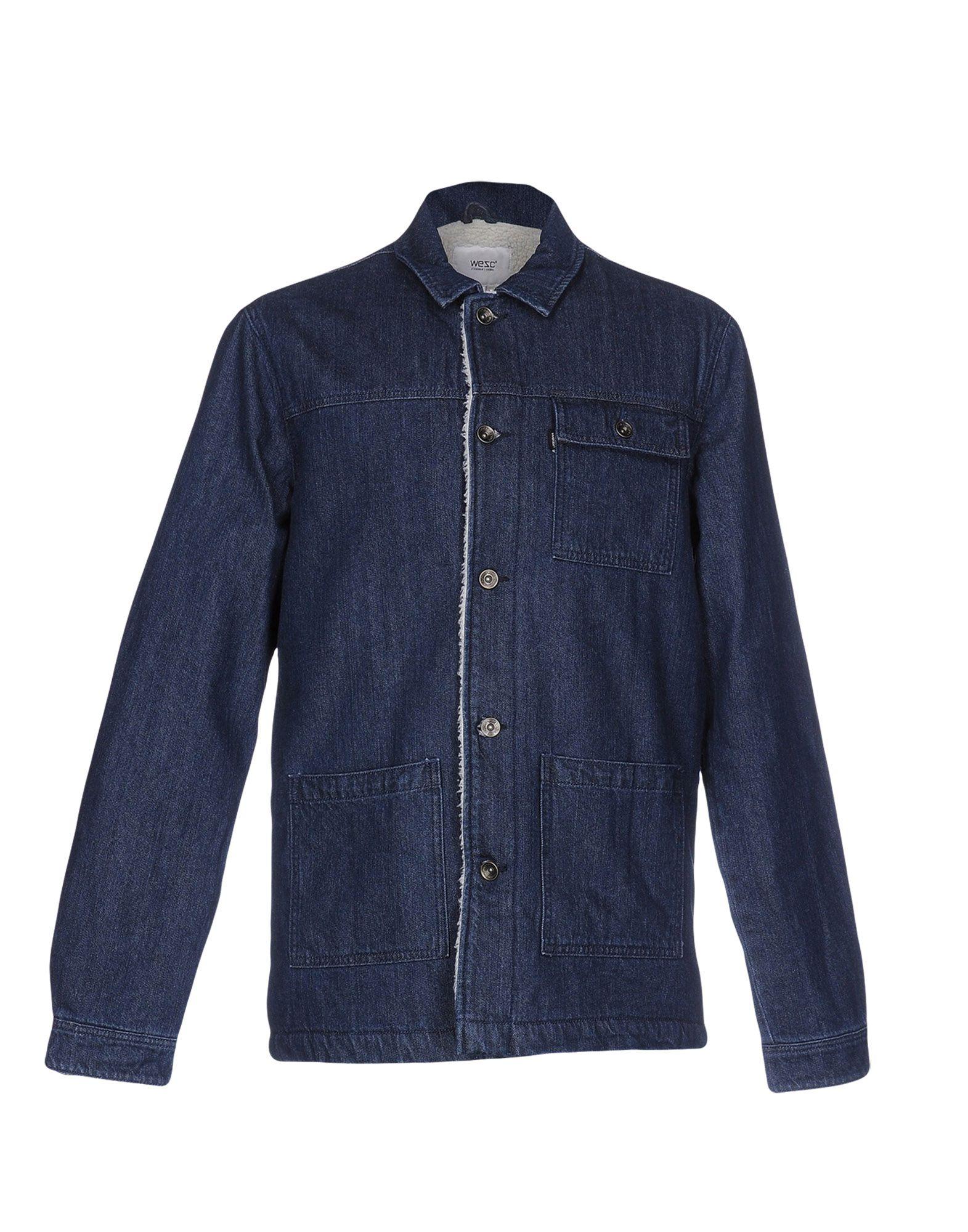 WESC Джинсовая верхняя одежда edun джинсовая верхняя одежда