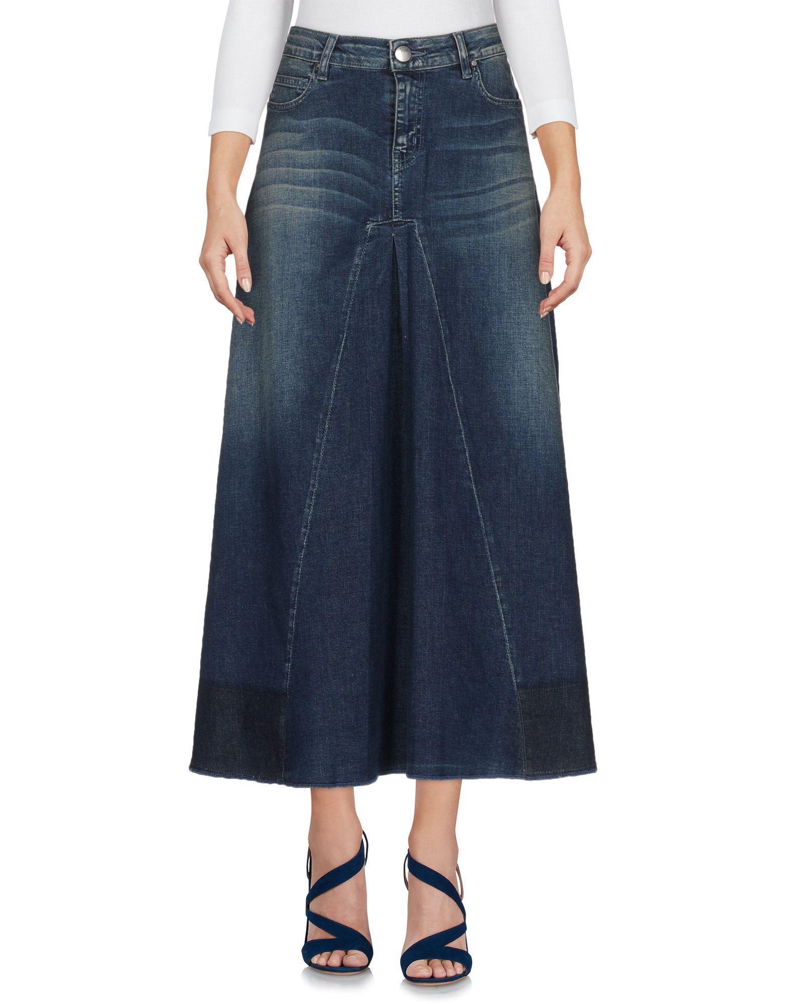 Фото JIJIL Джинсовая юбка. Купить с доставкой