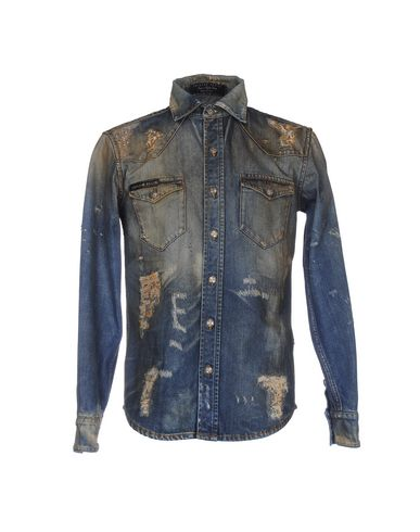 Джинсовая рубашка PHILIPP PLEIN 42583098MJ