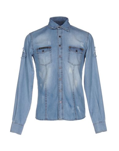 Джинсовая рубашка PHILIPP PLEIN 42583107PQ