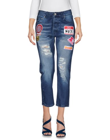 NICEBRAND Pantacourt en jean femme