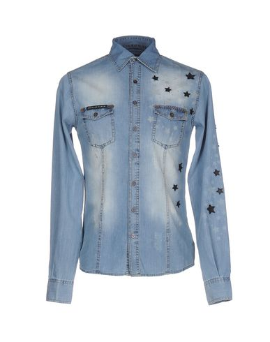 Джинсовая рубашка PHILIPP PLEIN 42583110DT