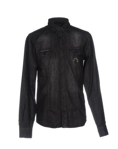 Джинсовая рубашка PHILIPP PLEIN 42583163IW