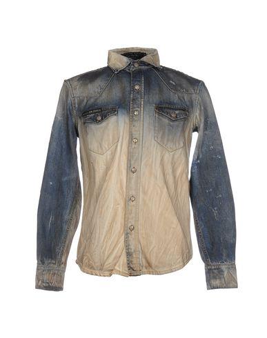 Джинсовая рубашка PHILIPP PLEIN 42583184PA