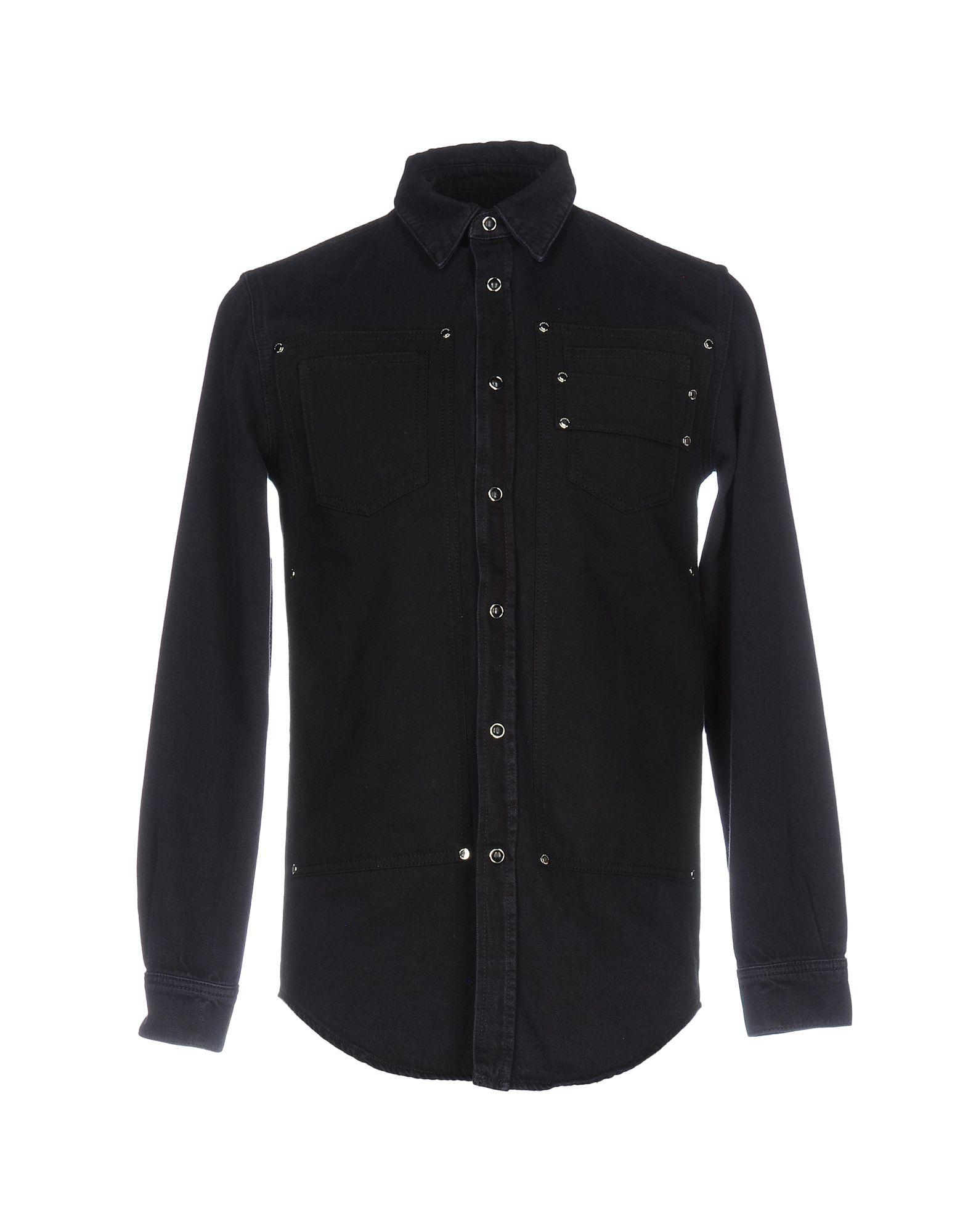 GIVENCHY Джинсовая рубашка рубашка мужская givenchy 20150212cj0092