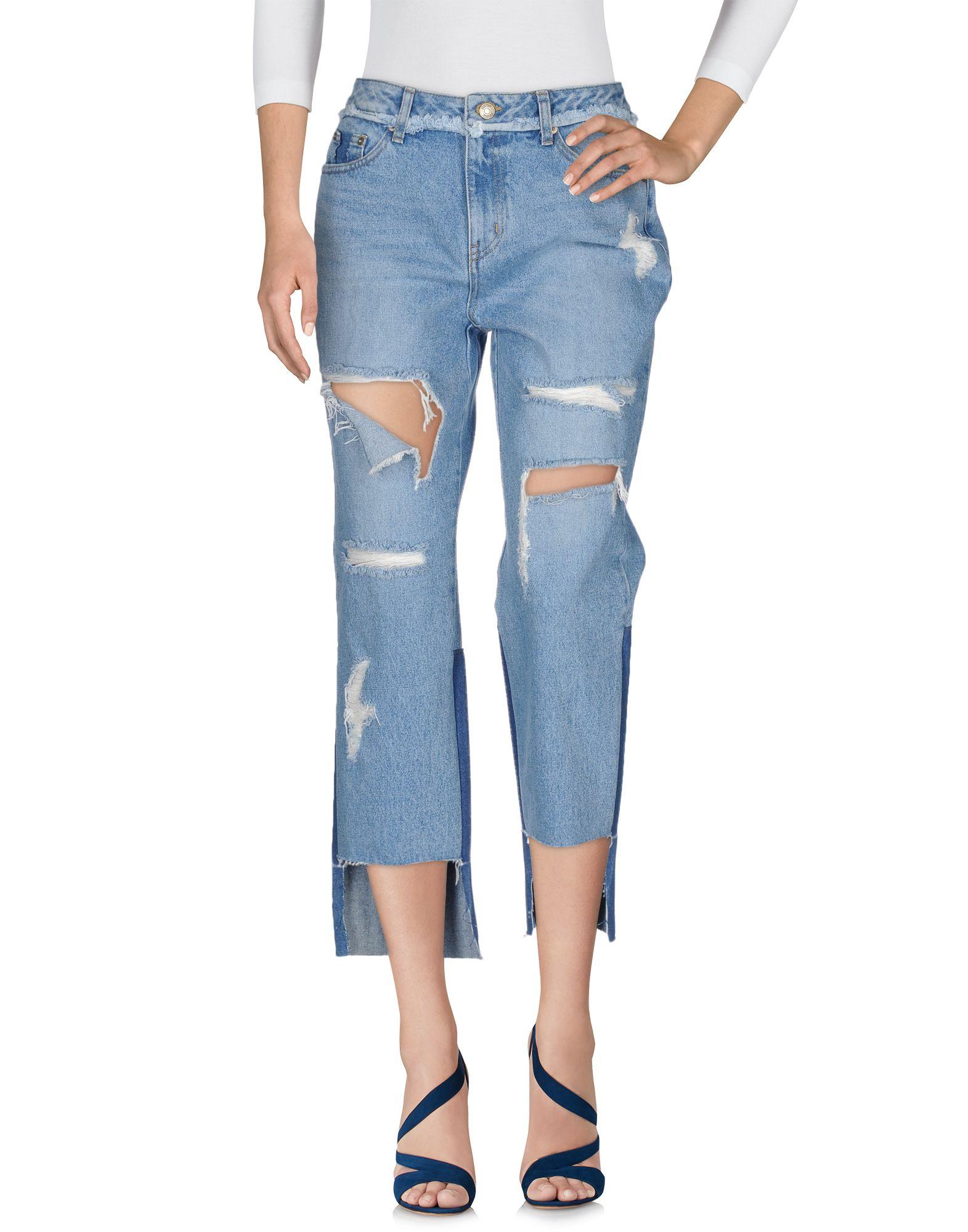 купить SJYP Джинсовые брюки по цене 5400 рублей