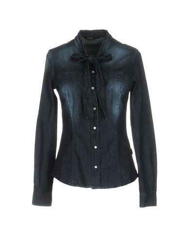 Джинсовая рубашка FORNARINA 42583482UP
