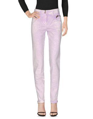 ROBERTO CAVALLI Damen Jeanshose Farbe Lila Größe 6 Sale Angebote