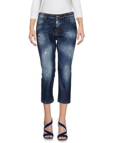 Джинсовые брюки-капри от JEANSENG