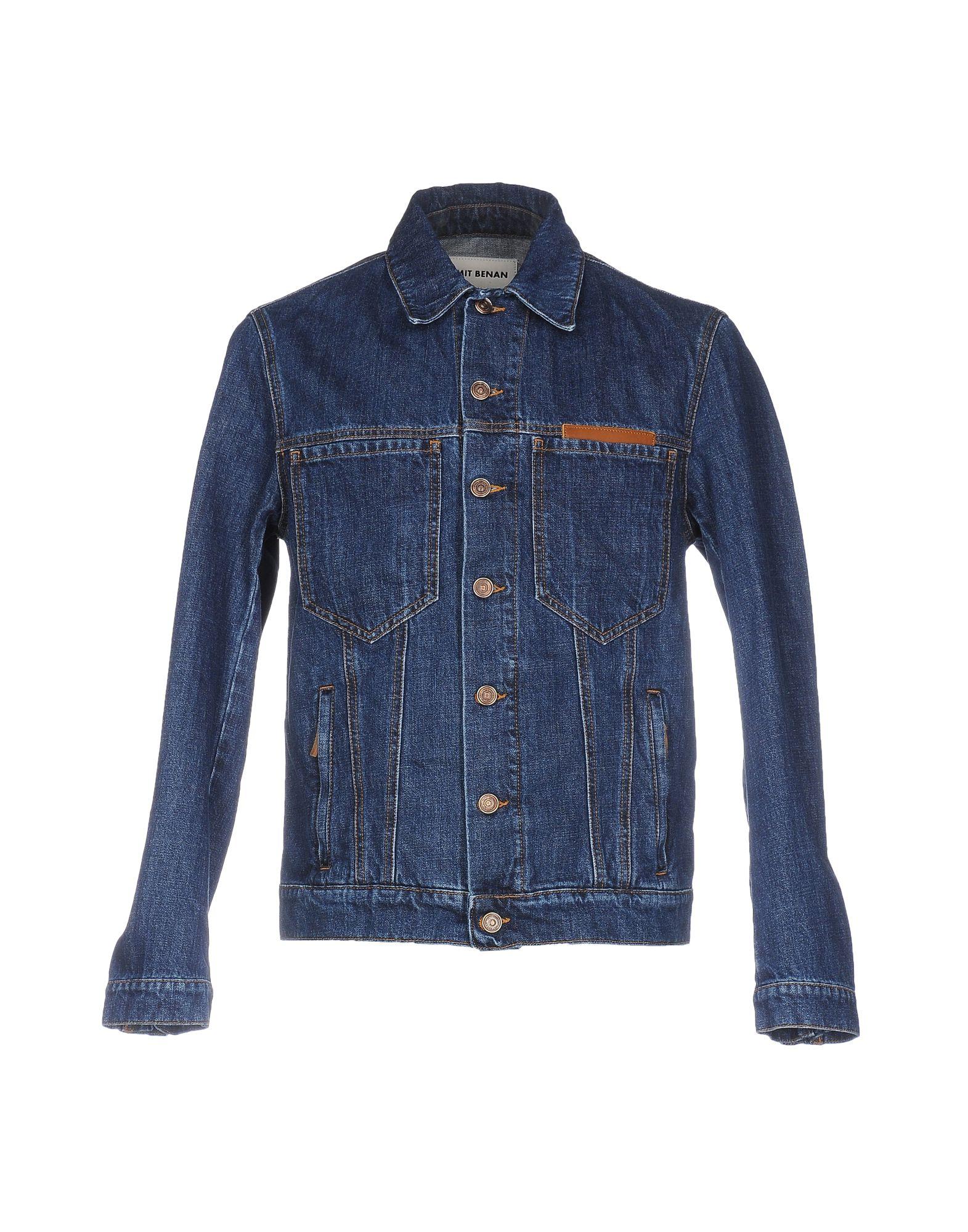 UMIT BENAN Джинсовая верхняя одежда umit benan джинсовая верхняя одежда