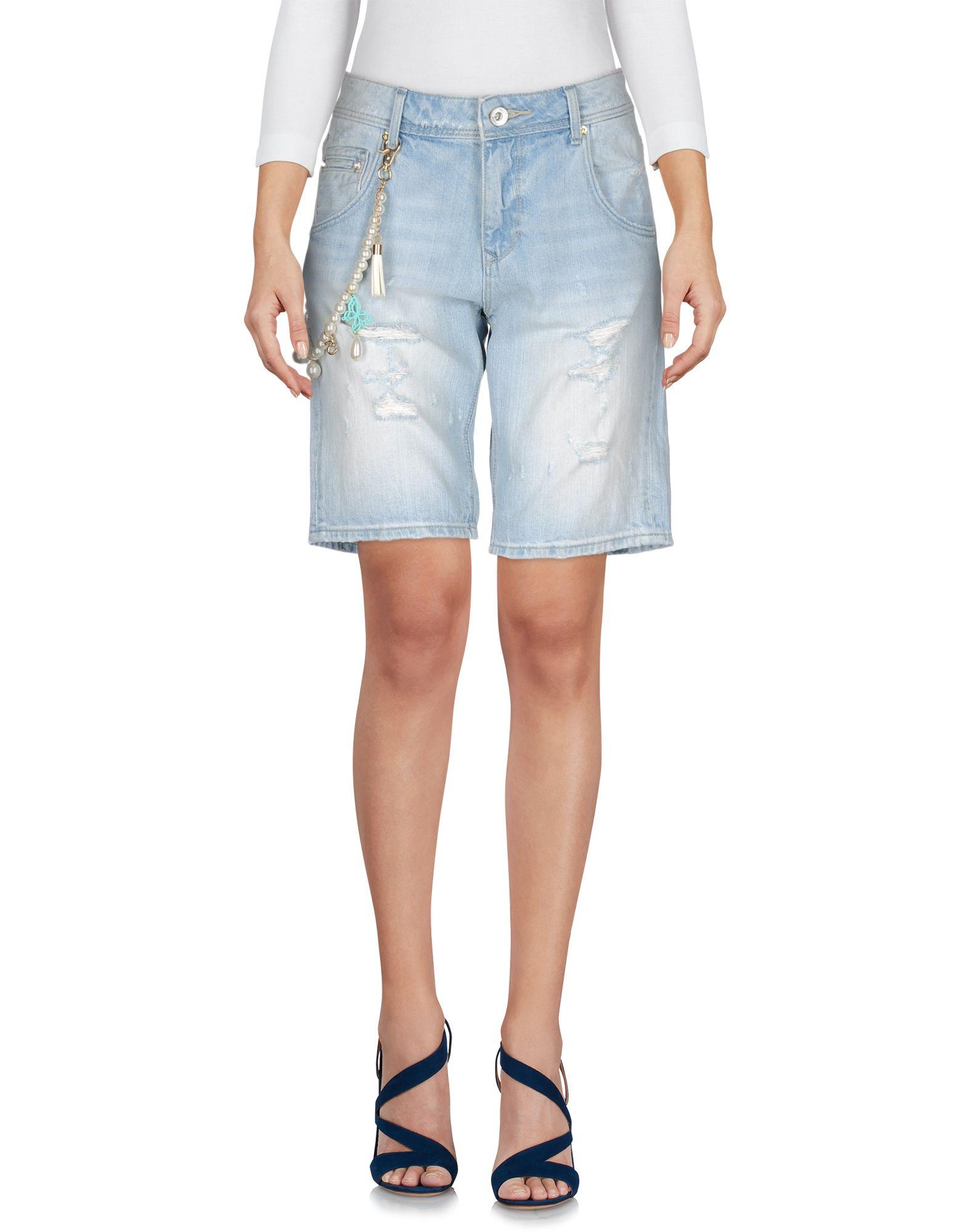 цена  BLUEFEEL by FRACOMINA Джинсовые шорты  онлайн в 2017 году