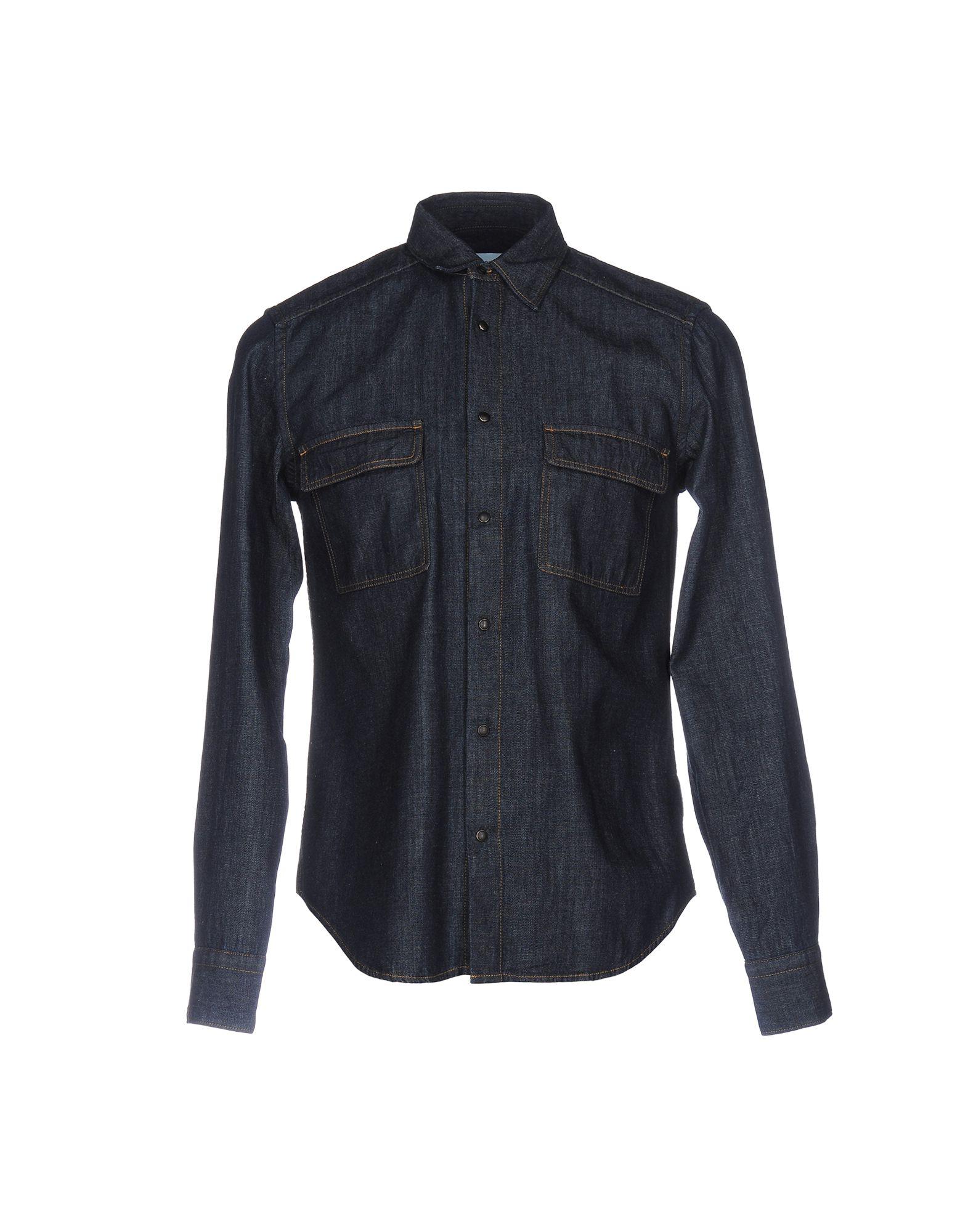 MAURO GRIFONI Джинсовая рубашка mcr джинсовая рубашка
